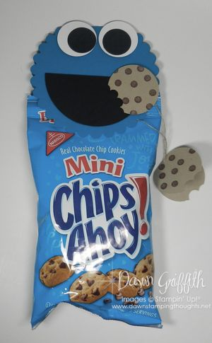 Cookie Monster topper