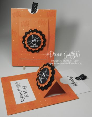 Spooky Pop up slider cards