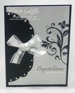 Congratulations Wedding card front