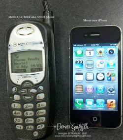Moms new phone