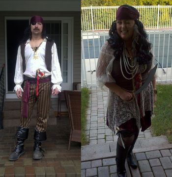 Pirates for Halloween party
