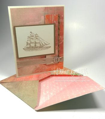 Standard size card with matching envelope