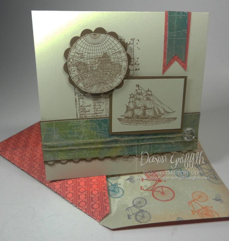6 x 6 with matching envelope