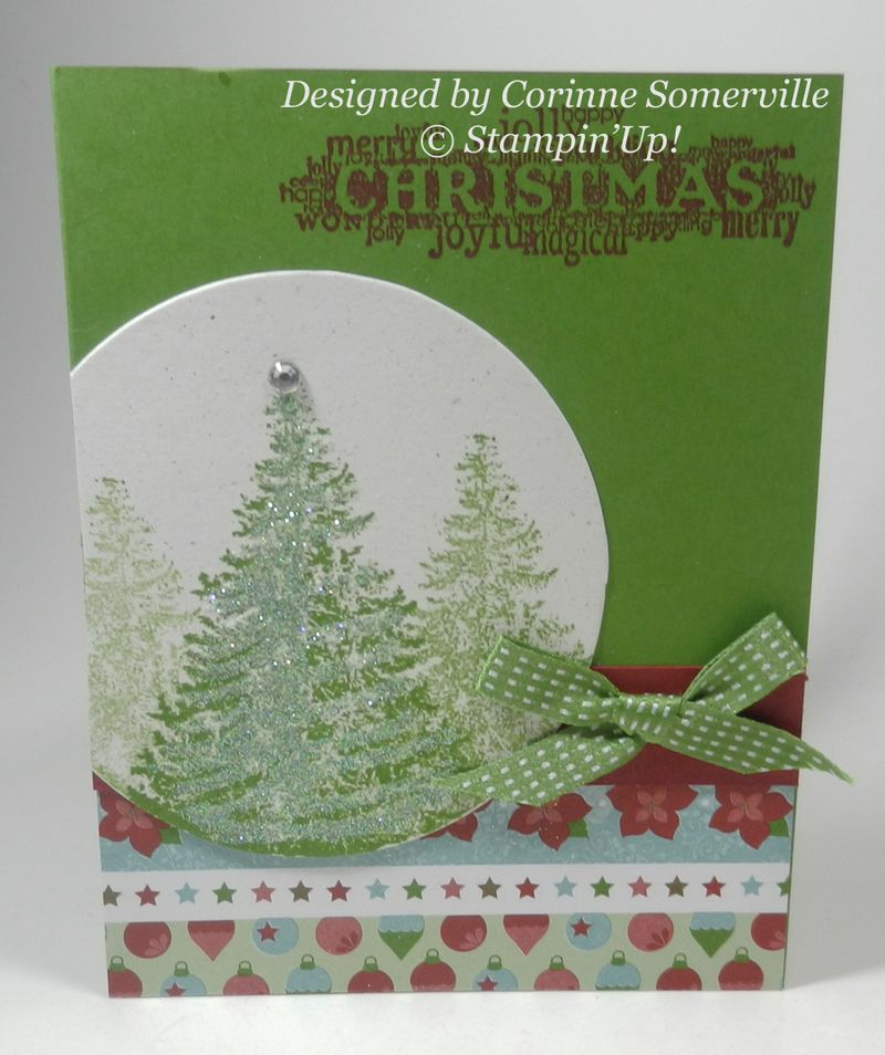 Christmas Card  from Corinne Somerville