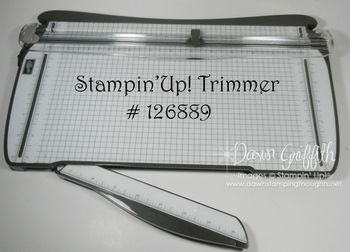 Stampin'Up! New paper trimmer #1