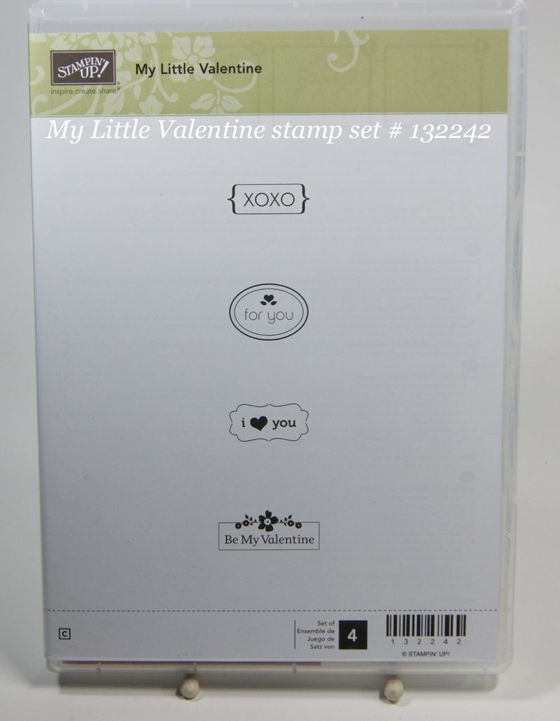 My Little Valentine # 132242 Clear Mount ONLY until Jan 21, 2013
