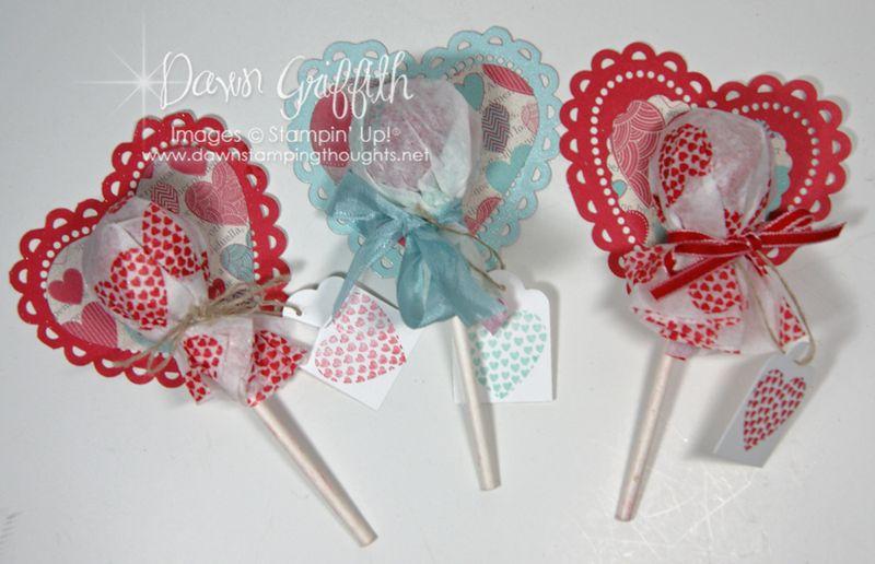 Valentine Lollipops