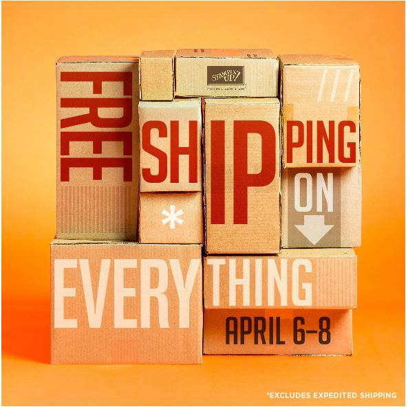 FREE shipping on everything Until Monday April 8, 2013