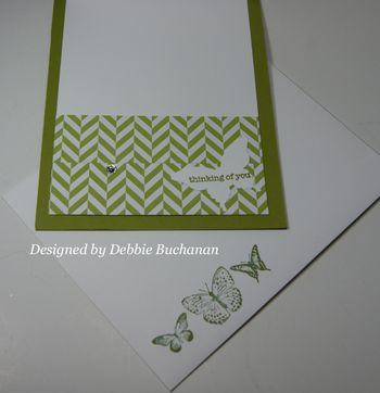 Debbie Buchanan Inside of card