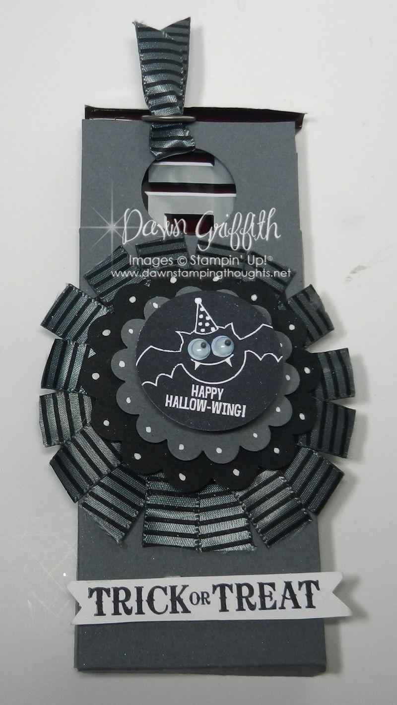 Spooky Candy bar holder