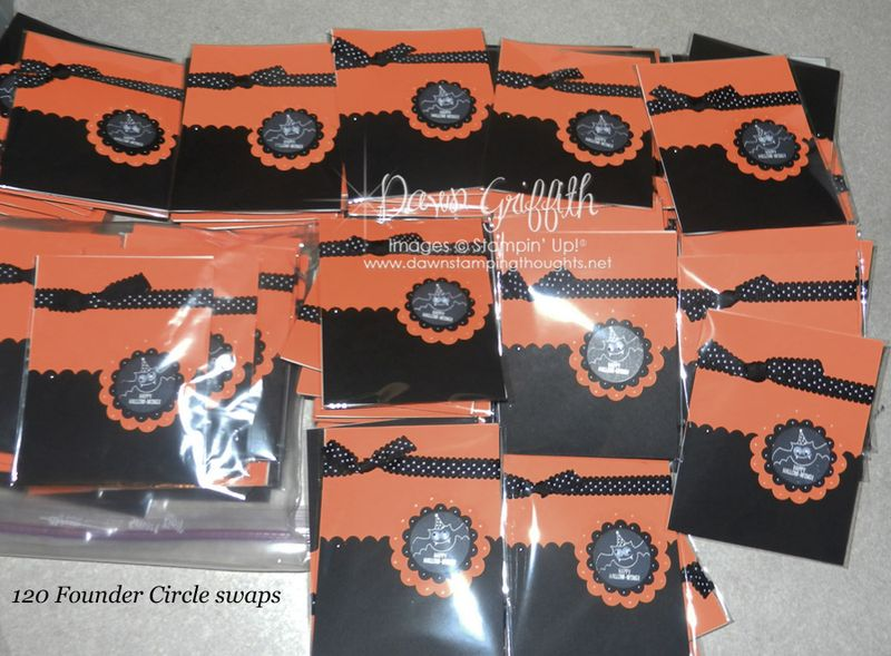 2012 Founder Circle swaps120  total