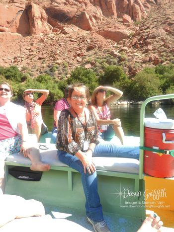 FC 2012 Glen Canyon Final event  Raft ride