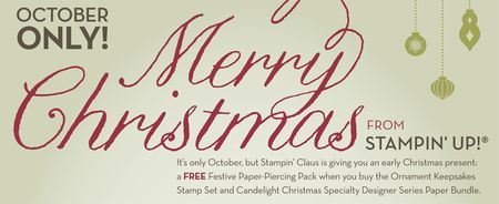 Merry Christmas from Stampin'Up!