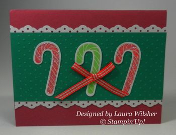 Christmas card from Laura Wilsher