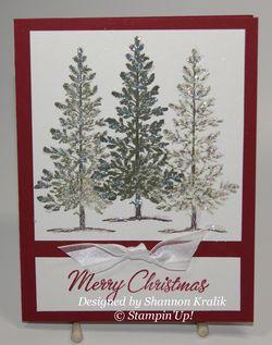 Shannon Kralik Christmas card  2012