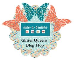 SAB Glitter Queens Blog Hop Jan 22- Jan 25th, 2013