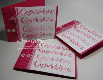 Congratulations cards  for level 2