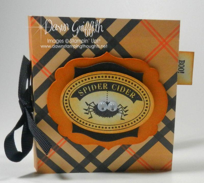 Spider Cider Tea bag holder