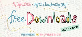 FREE downloads  and 50 percent off ALL digital kits