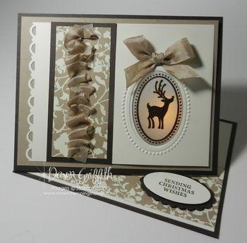 Peek a boo Easel card