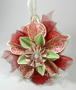 Ornament Cherry Cobbler  Gumball Green