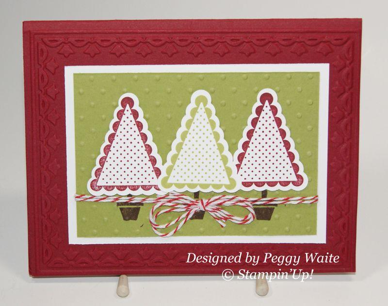 Peggy Waite Christmas card 2012