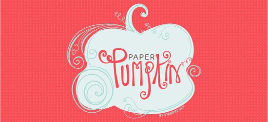 Paper Pumpkin  Dawn Griffith