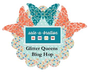 SAB Glitter Queens Blog Hop Jan 22- Jan 25th, 2013