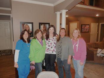 Patty,Dee,Megan, Onalee, Karen