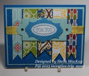 Fiji 2013 Stella MacKay swap