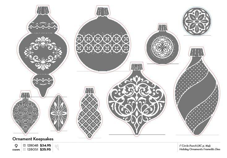 Ornament Keepsakes and Framelits