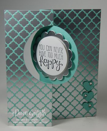 Thinlits Circle card front