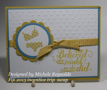 Fiji 2013 Michele Reynolds Swap