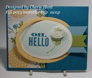 Fiji 2013 Cherie Hunt swap #1
