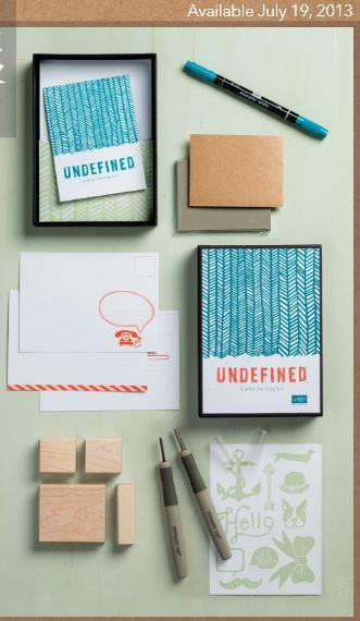 Undefined stamp carving kit