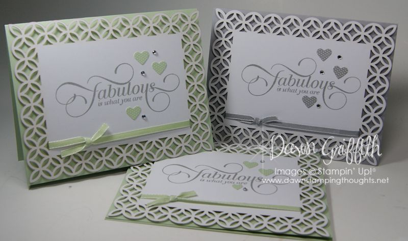 Simply Fabulous cards