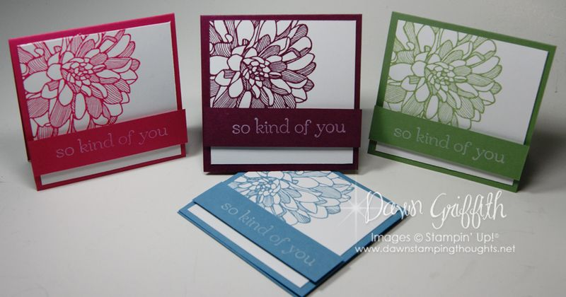 August 2013 Thank you notes