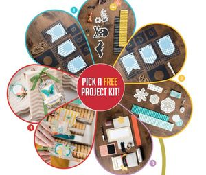 FREE project kit when you sign up  July 15- August 31