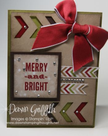 Merry & Bright tag card