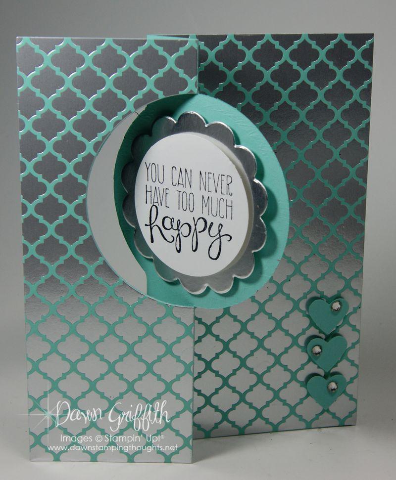 Thinlits Circle card front