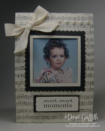 Photo frame using a cereal box