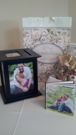 Grace & Aaron Sept 13, 2013 Gift table