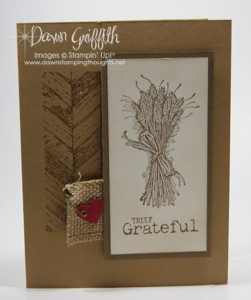 Truly Grateful club card cased  from Glenda T
