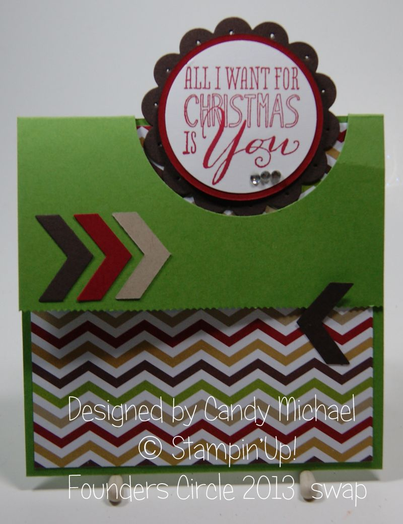 Candy Michael Swap card from Founders Circle 2013