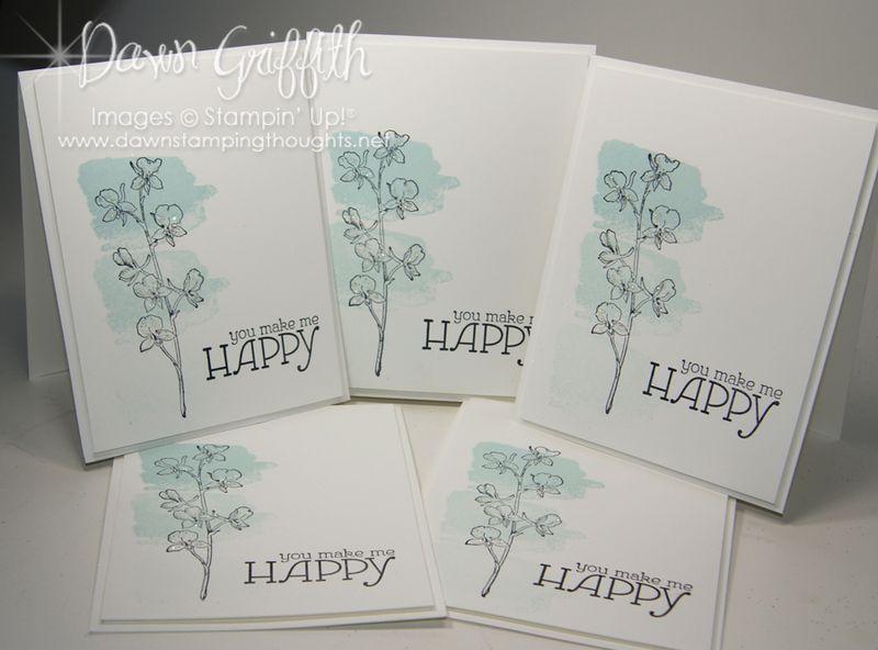 September 2013  Hostess cards for Peggy