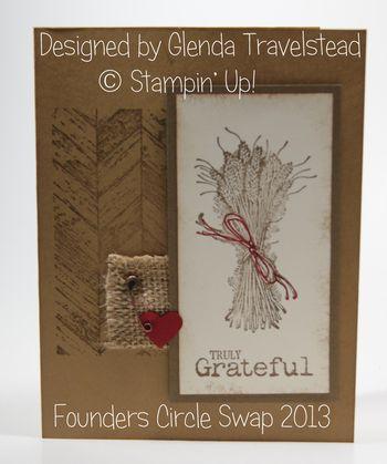 Glenda Travelstead Swap from Founders 2013