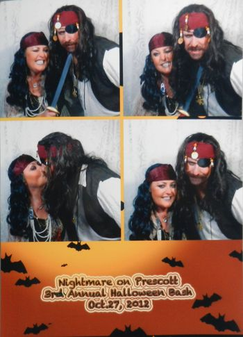 Photo Booth  from Halloween party Oct 27 2012