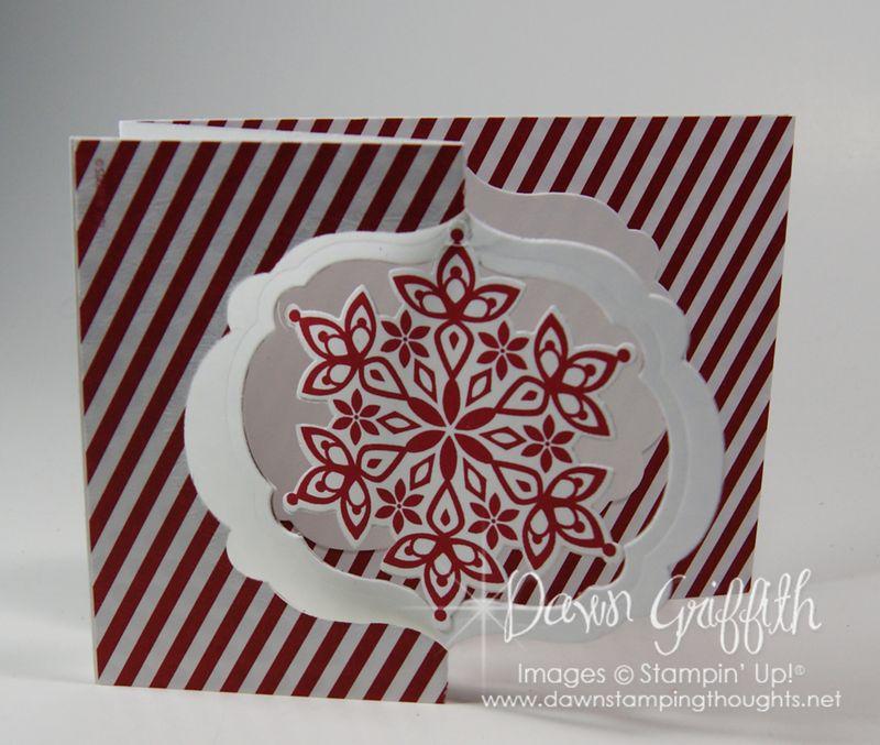 Snowflake Flip card #1