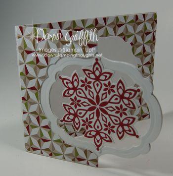Snowflake Flip card #2