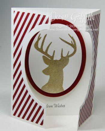 GateFold Window Christmas card